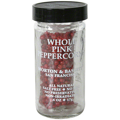Morton & Bassett Spices Whole Pink Peppercorns, 0.6 oz (Pack of 3)