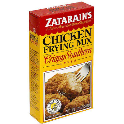 Zatarain's Crispy Southern Chicken Breading Mix, 12 oz (Pack of 12)