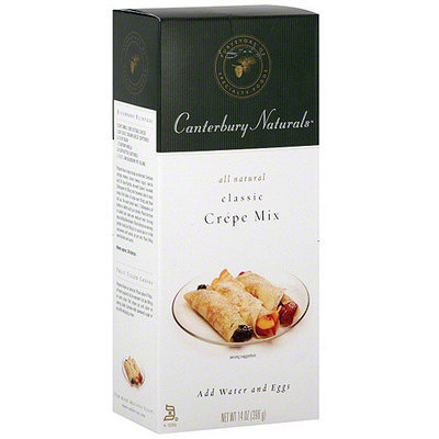 Canterbury Naturals Classic Crepe Baking Mix, 14 oz (Pack of 6)