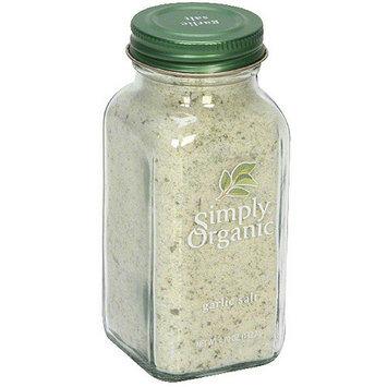 Simply Organic Garlic Salt, 4.7 oz (Pack of 6)