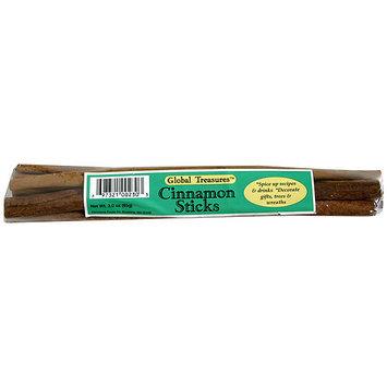 Global Treasures Cinnamon Sticks, 3.0 oz (Pack of 12)