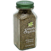 Simply Organic All-Purpose Seasoning, 2.08 oz (Pack of 6)