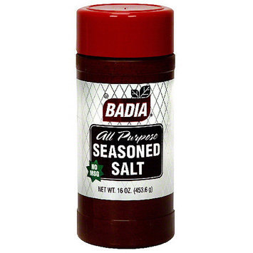 Badia All Purpose Seasoned Salt, 16 oz (Pack of 12)