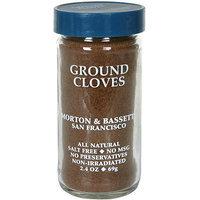 Morton & Bassett Spices Ground Cloves, 2.4 oz (Pack of 3)