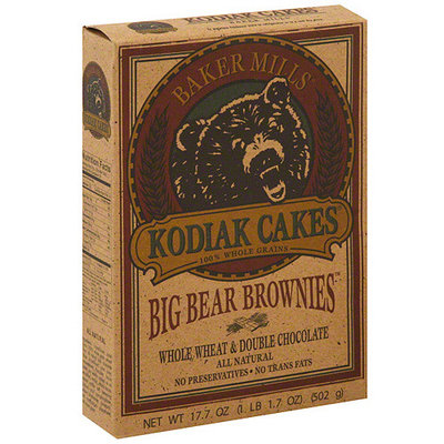 Kodiak Cakes Big Bear Brownies, 17.1 oz (Pack of 6)