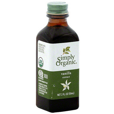 Simply Organic Pure Vanilla Extract, 2 oz (Pack of 6)