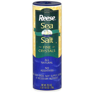 Reese Fine Sea Salt Crystals, 26.5 oz (Pack of 12)