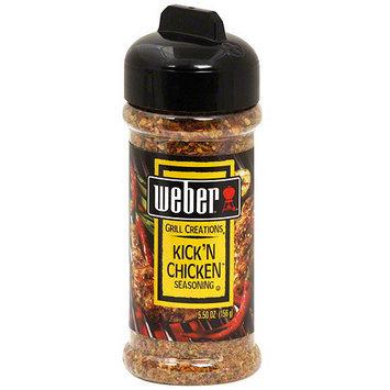 Weber Kickin Chicken Seasoning, 5.5 oz (Pack of 8)