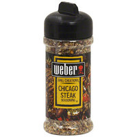 Weber Chicago Steak Seasoning, 6.0 oz (Pack of 8)