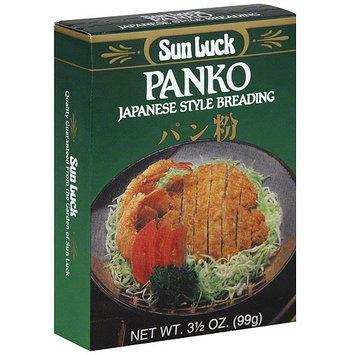 Sun Luck Panko Japanese Style Breading, 3.5 oz (Pack of 12)