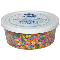 Dec-a-cake Decacake Confetti Sprinkles, 3.18 oz (Pack of 12)