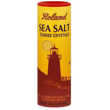 Roland Coarse Salt, 26.5 oz (Pack of 12)