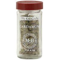 Morton & Bassett Spices Organic Cardamom, 0.9 oz (Pack of 3)