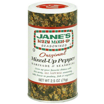 Jane's Krazy Mixed-Up Seasonings Krazy Mixed-Up Pepper, 2.5 oz (Pack of 12)