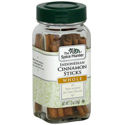 The Spice Hunter Indonesian Whole Cinnamon Sticks, 1.2 oz (Pack of 6)