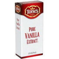 Tone's Pure Vanilla Extract, 1 oz (Pack of 12)