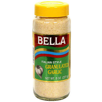 Bella Granulated Garlic Seasoning, 8 oz (Pack of 12)