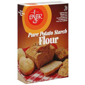 Ener-G Pure Potato Starch Flour, 16 oz (Pack of 12)