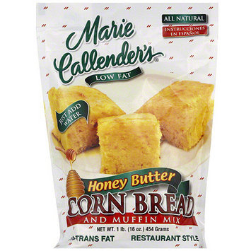Marie Callender's Honey Butter Cornbread & Muffin Mix, 16 oz (Pack of 12)