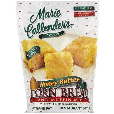 Marie Callender's Honey Butter Cornbread & Muffin Mix, 16 oz (Pack of 12)