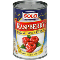 Solo Raspberry Filling, 12 oz (Pack of 6)