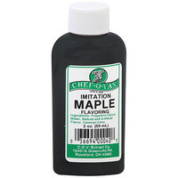Chef O Van Chef-O-Van Imitation Maple Flavoring, 2 oz (Pack of 12)