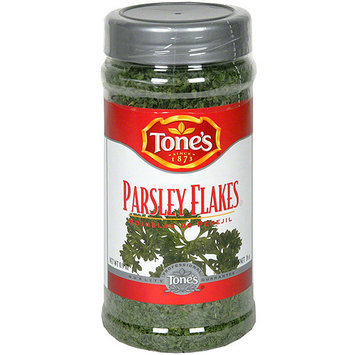 Tone's Flakes Parsley, 0.9 oz (Pack of 12)