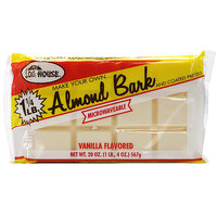 Log House Vanilla Almond bark, 20 oz (Pack of 12)
