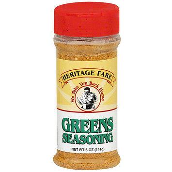 Heritage Fare Greens Seasoning, 5 oz (Pack of 12)