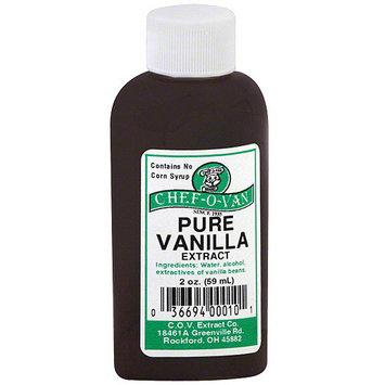 Chef O Van Chef-O-Van Pure Vanilla Extract, 2 oz (Pack of 12)