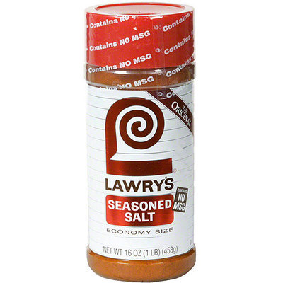 Lawry's Seasoned Salt, 16 oz (Pack of 12)