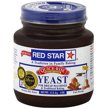 Red Star Quick Rise Yeast, 4 oz (Pack of 12)