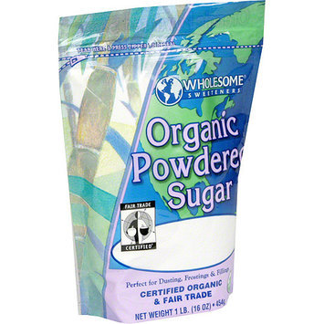 Wholesome Sweeteners Organic Powdered Sugar, 1 lb (Pack of 6)