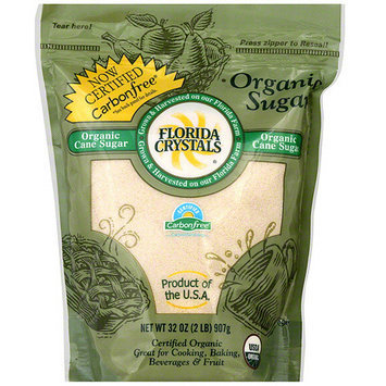 Florida Crystals Organic Sugar, 2 lb (Pack of 6)