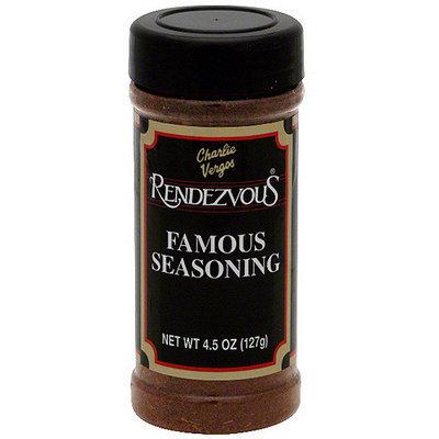 Charlie Vergos Famous Seasoning, 4.5 oz (Pack of 12)