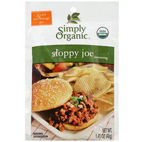 Simply Organic Sloppy Joe Seasoning, 1.41 oz (Pack of 12)