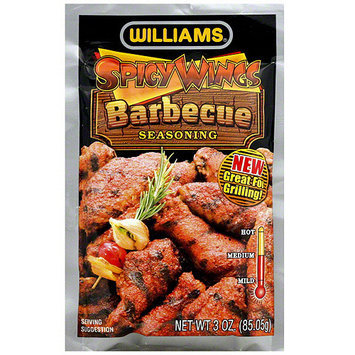 Williams Spicy Wings Barbecue Seasoning, 3 oz (Pack of 12 )