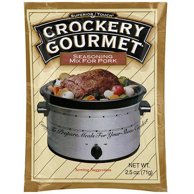 Superior Touch Crockery Gourmet Seasoning Mix For Pork, 2.5 oz (Pack of 12)