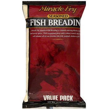 Miracle Fry Seasoned Fish Breading, 12 oz (Pack of 12)