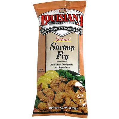 Louisiana Fish Fry Products Seasoned Shrimp Fry, 10 oz (Pack of 12)