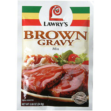 Lawry's Brown Gravy Mix, 0.88 oz (Pack of 24)