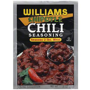 Williams Chipotle Chili Seasoning, 1.13 oz (Pack of 24)