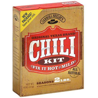 Carroll Shelby's Original Texas Brand Chili Mix, 4 oz (Pack of 12)