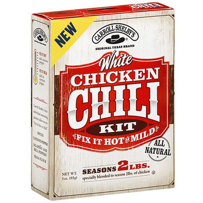 Carroll Shelby's White Chicken, 3 oz (Pack of 12)