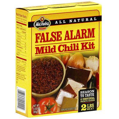 Wick Fowler's False Alarm Mild Chili Kit, 3.03 oz (Pack of 12)
