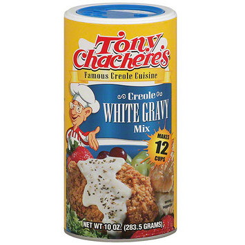 Tony Chachere's Famous Creole Cuisine Creole White Gravy Mix, 10 oz (Pack of 12)