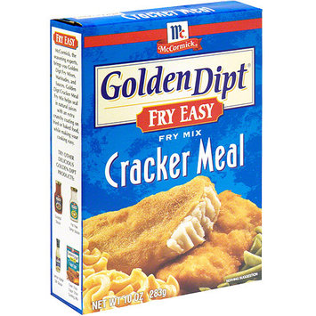 Golden Dipt Cracker Meal Seafood Fry Mix, 10 oz (Pack of 12)