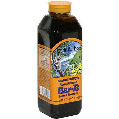 World Harbors Bar-B Sauce & Marinade, 16 oz (Pack of 6)