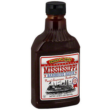 Mississippi Bbq Mississippi Barbecue Sauce Sweet N Spicy Barbecue Sauce, 18 oz (Pack of 6)