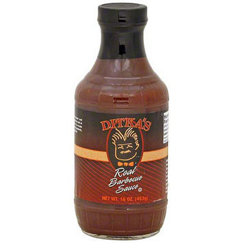 Ditka's Real Barbecue Sauce, 16 oz (Pack of 6)